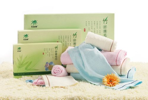 Бамбуковые полотенца.