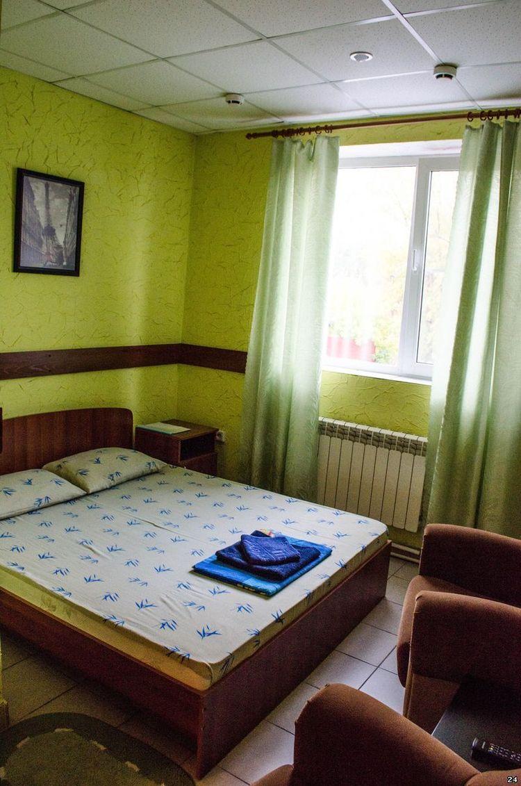 Гостиница в Барнауле, где декорируют номера